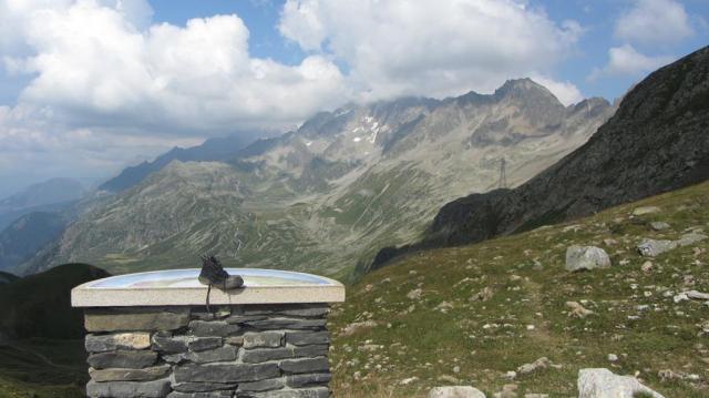 Xiruca en el Col du Bonhomme
