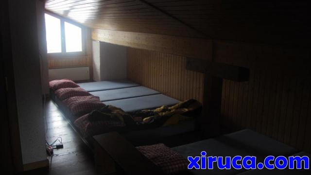 Dormitorio en La Fouly