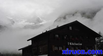 Glacier de l'A Neuve desde Hotel Edelweiss