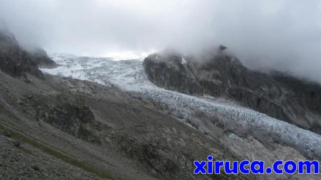 Se despeja el Glacier du Trient
