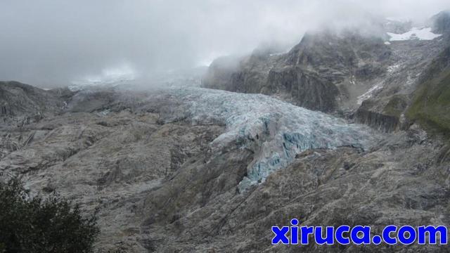 Festival de colores en el Glacier du Trient