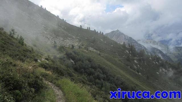 Camino a Col de Balme