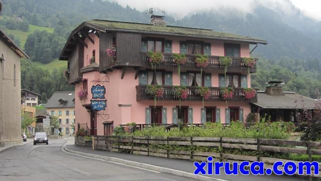 Impresionante albergue en Les Houches