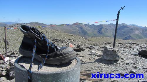 Xiruca en el Puigmal