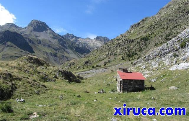 Valle del Ara desde Cabaña del Cerbillonar