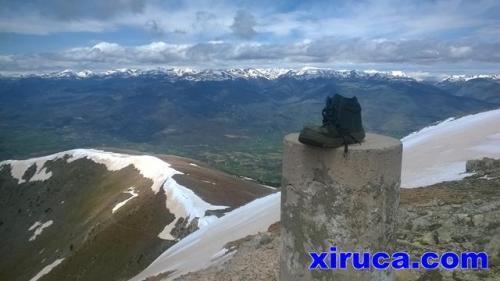 Xiruca en la Tosa d'Alp