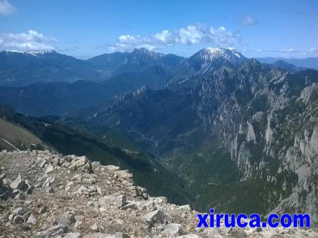 Serra d'Ensija, Pedraforca y Serra del Cadí-Moixeró