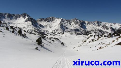 Cimas entre Cerdanya y Andorra y Vall de Madriu