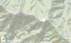 Croquis de la ruta al Puig de Sant Cristau