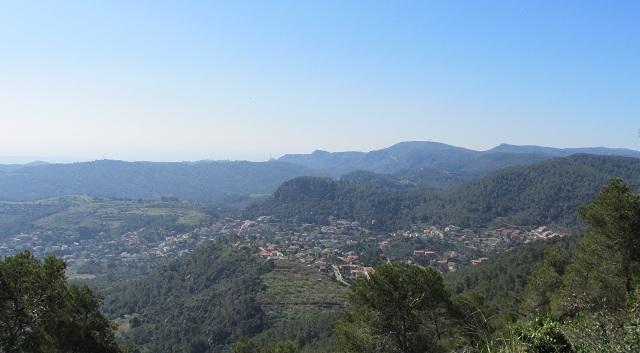 Vista desde la cima del Puig Vicenç