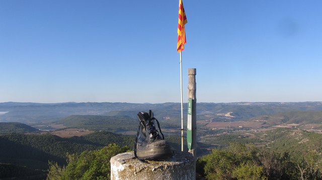Xiruca en el Puig de Sant Miquel