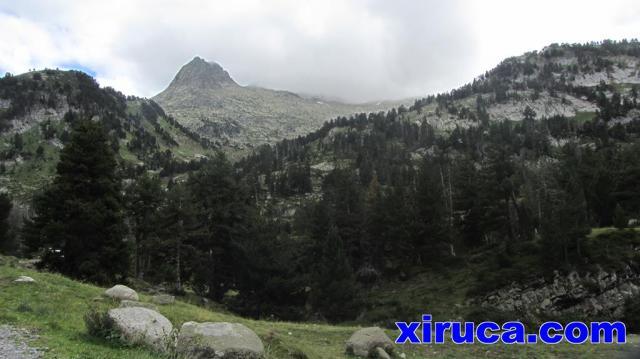Pico de la Renclusa desde la Besurta