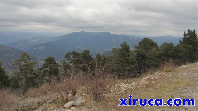 Serra dels Lladres desde La Figuerassa
