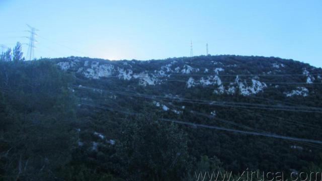 Subida al Montau desde Olesa de Bonesvalls