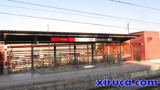 Estación de tren de El Papiol